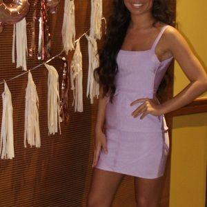 Lilac bandage dress worn once!